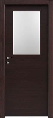 דלתות פנים צוהר חצי דלת וונגה