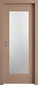 דלתות פנים צוהר יפני לא מחולק אלון מולבן