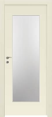 דלתות פנים - צוהר יפני לא מחולק שמנת