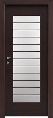 דלתות פנים צוהר יפני מחולק ל-12 וונגה