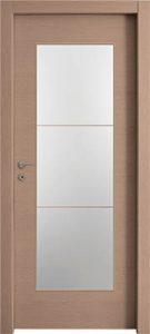 דלתות פנים צוהר יפני מחולק ל-3 אלון מולבן