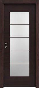 דלתות פנים צוהר יפני מחולק ל-5 וונגה