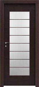 דלתות פנים צוהר יפני מחולק ל-8 וונגה