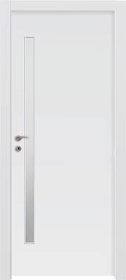 דלתות פנים - צוהר מעלית 8 160X צד ידית לבן